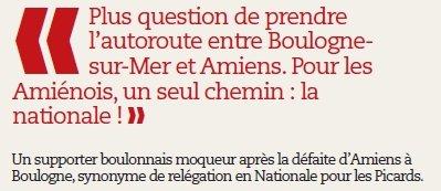 La relégation de l'ASC vue par Amiens Forum