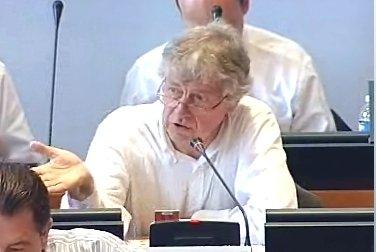 Gilles Demlailly en Conseil municipal