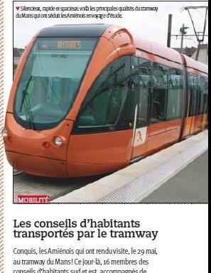 Amiens Forum se penche sur le tram du Mans