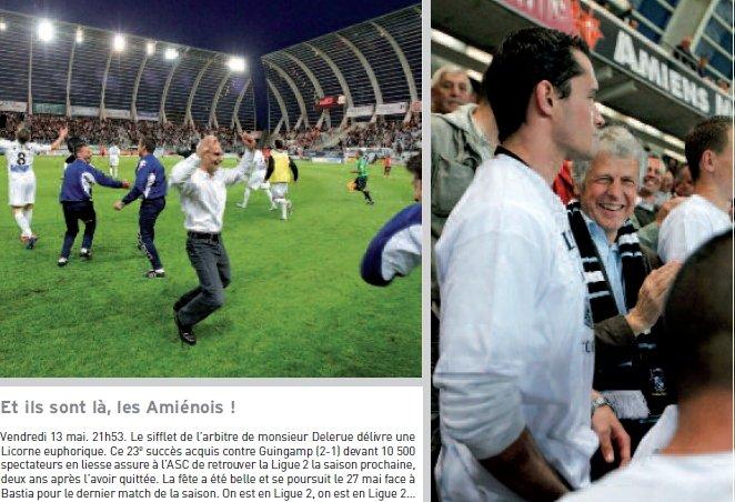 L'Amiens SC en Ligue 2 : la municipalité dans le vent dans Divers
